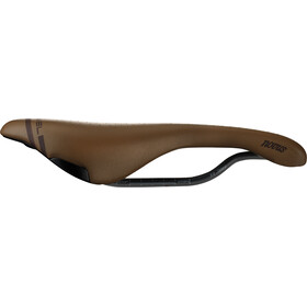 Selle Italia Novus Boost Gravel Heritage Saddle Super Flow brown